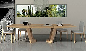 Mesa de comedor extensible Olimpia