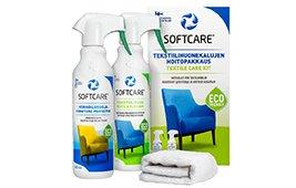 Set para el cuidado de tapicerías con limpiador y protector