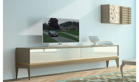 Mueble tv moderno triangle Plain