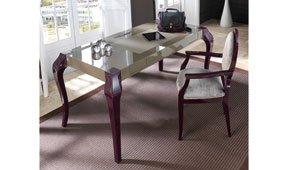Mesa de escritorio 2 cajones moderna Agora