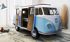 Cama Bun Van furgoneta volkswagen