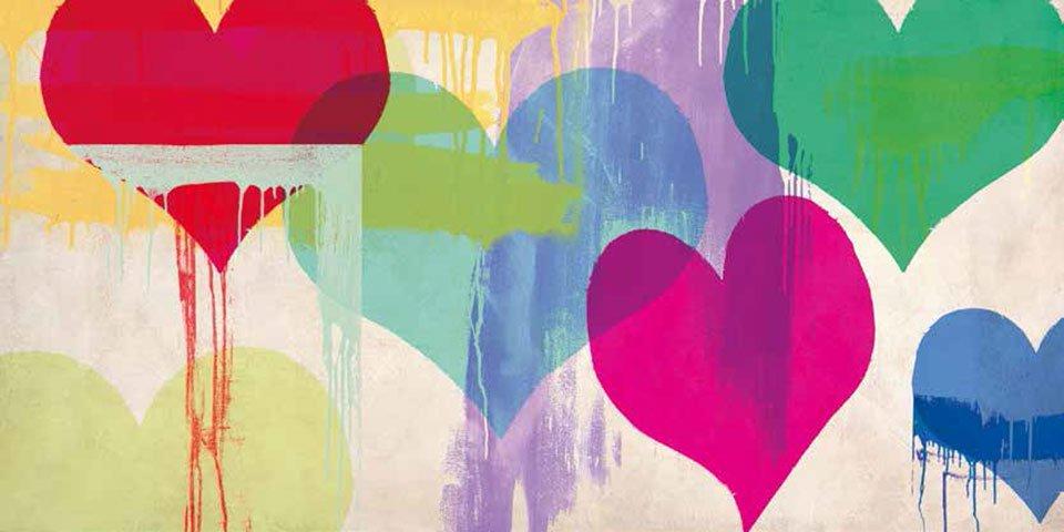 Cuadro canvas te amo