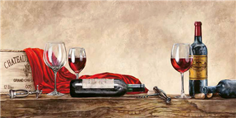 Cuadro canvas grand cru wines