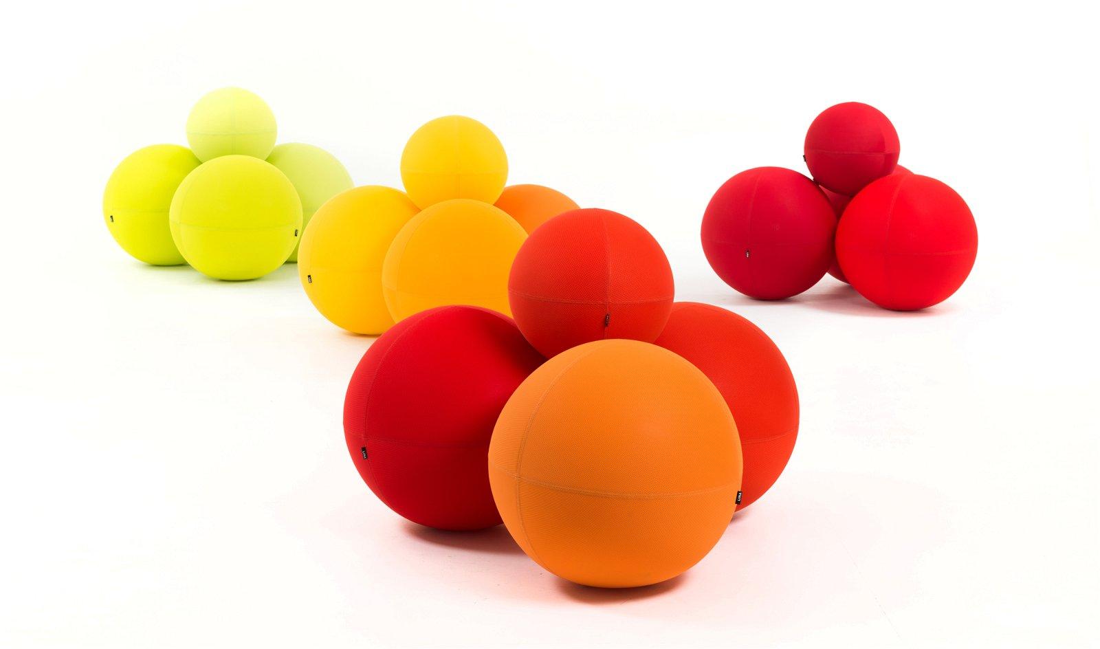 Puff redondo moderno Ball