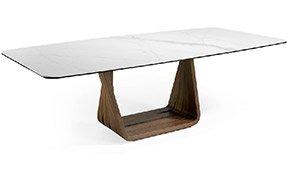 Mesa de comedor de diseño porcelánico Paute