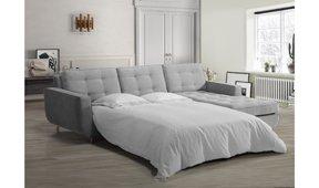 Sofá cama con chaise longue retro Sterling Cooper
