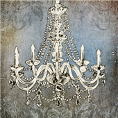 Cuadro canvas luxurious lights I