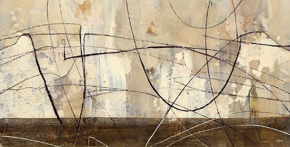 Cuadro canvas across the desert