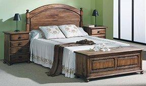Cabecero y cama colonial Provenza