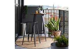 Mesa de terraza industrial Bulima