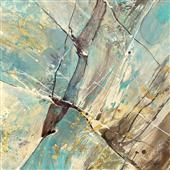 Cuadro canvas blue water II
