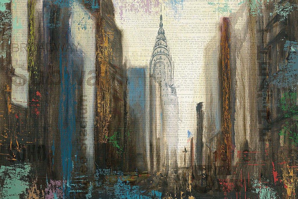 Cuadro canvas urban movement