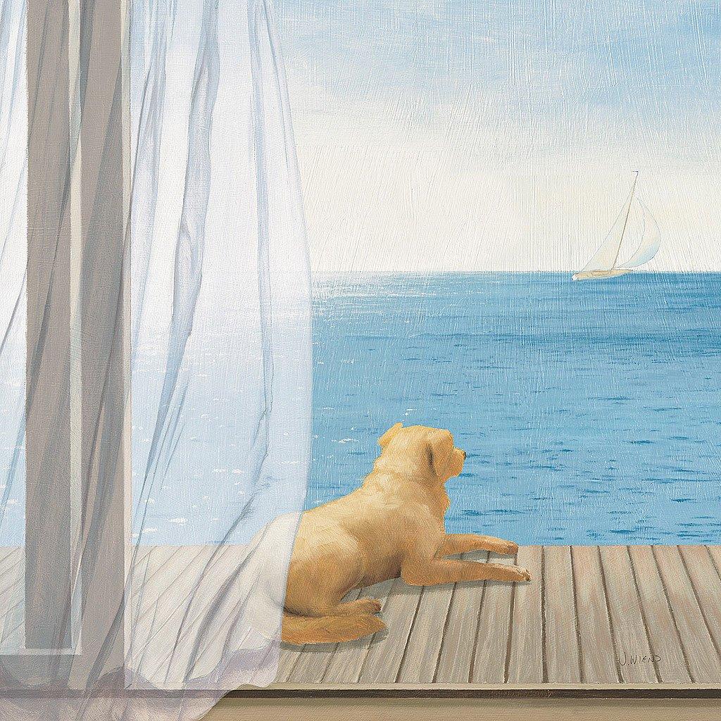Cuadro canvas blue breeze
