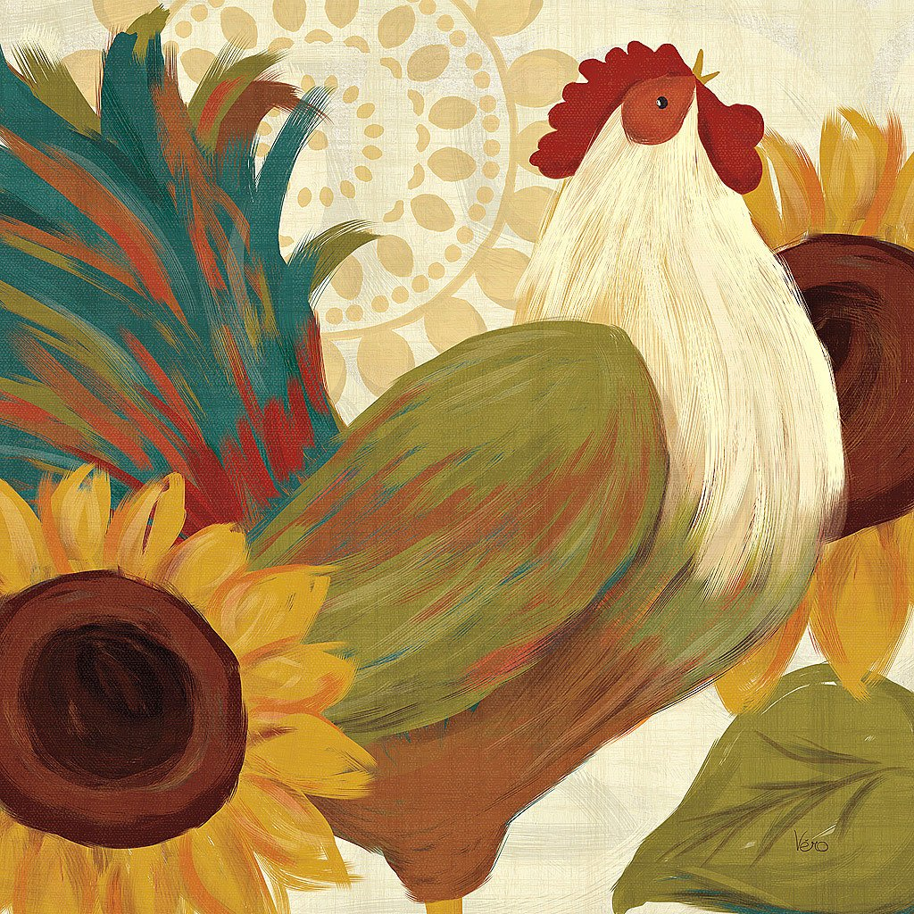 Cuadro canvas spice roosters I