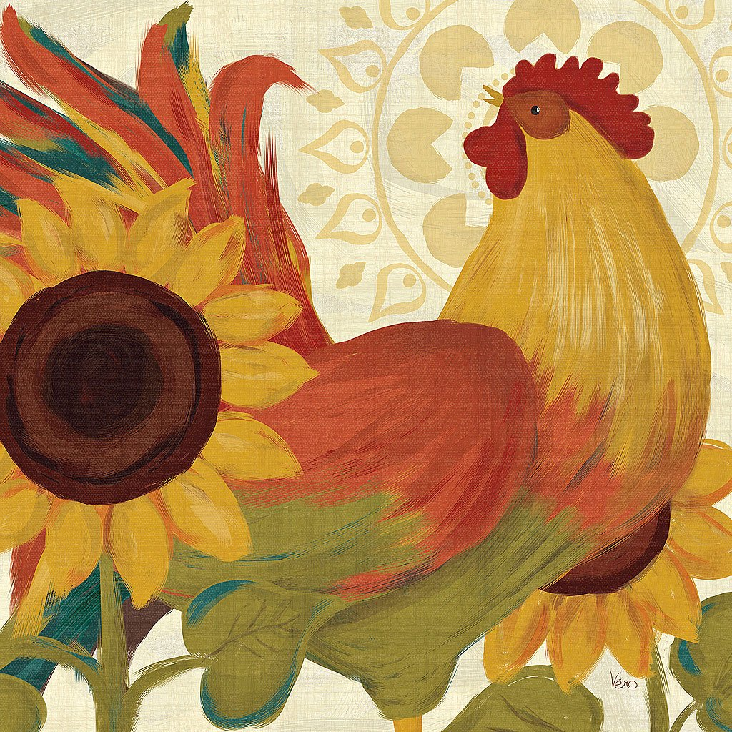 Cuadro canvas spice roosters II