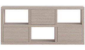 Mueble auxiliar pequeño 3 puertas nórdico Sendai