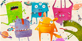 Cuadro canvas alien class