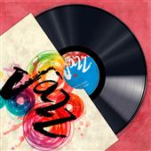 Cuadro canvas vinyl club jazz