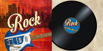 Cuadro canvas rock collection