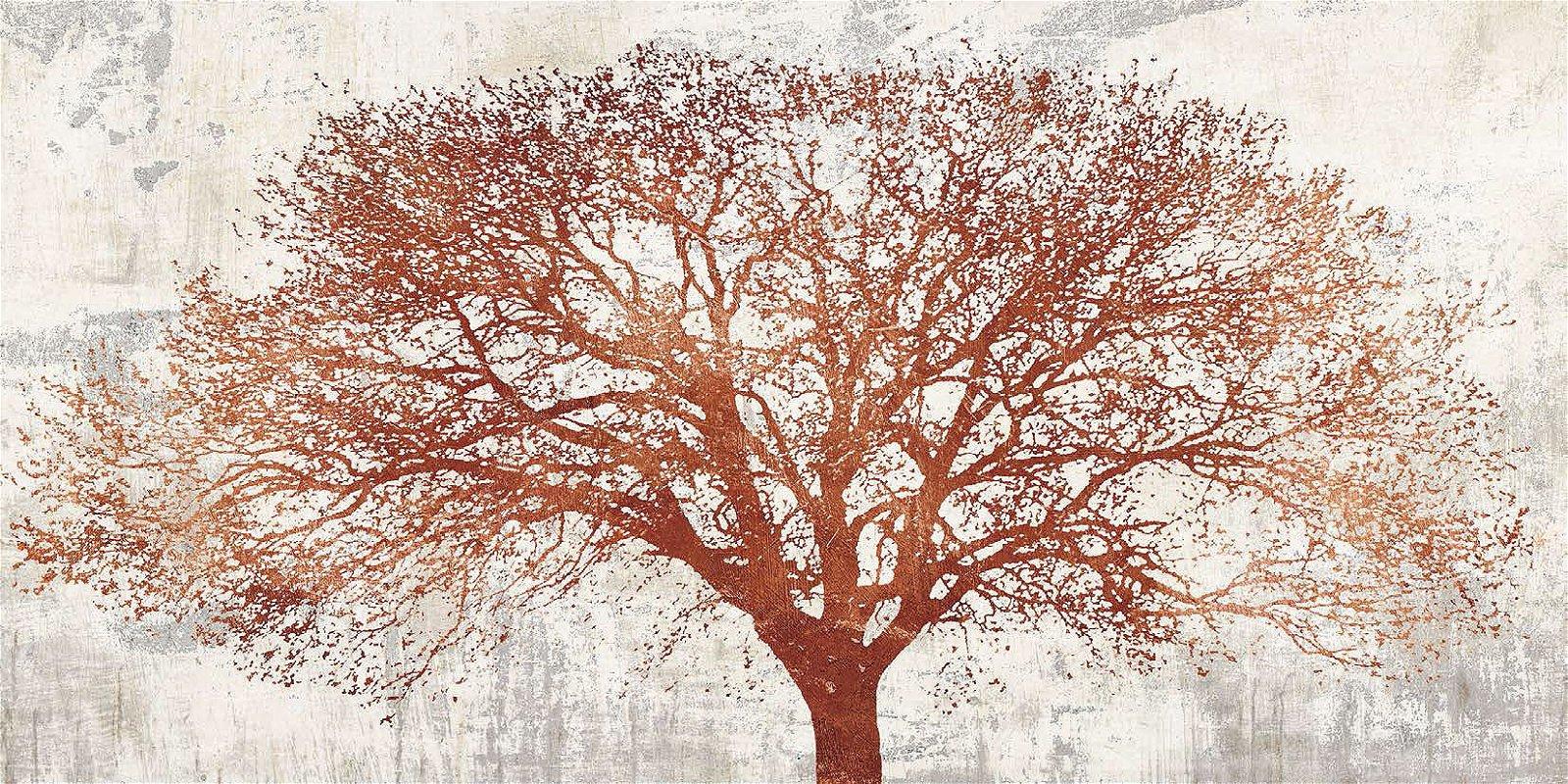 Cuadro canvas tree of bronze