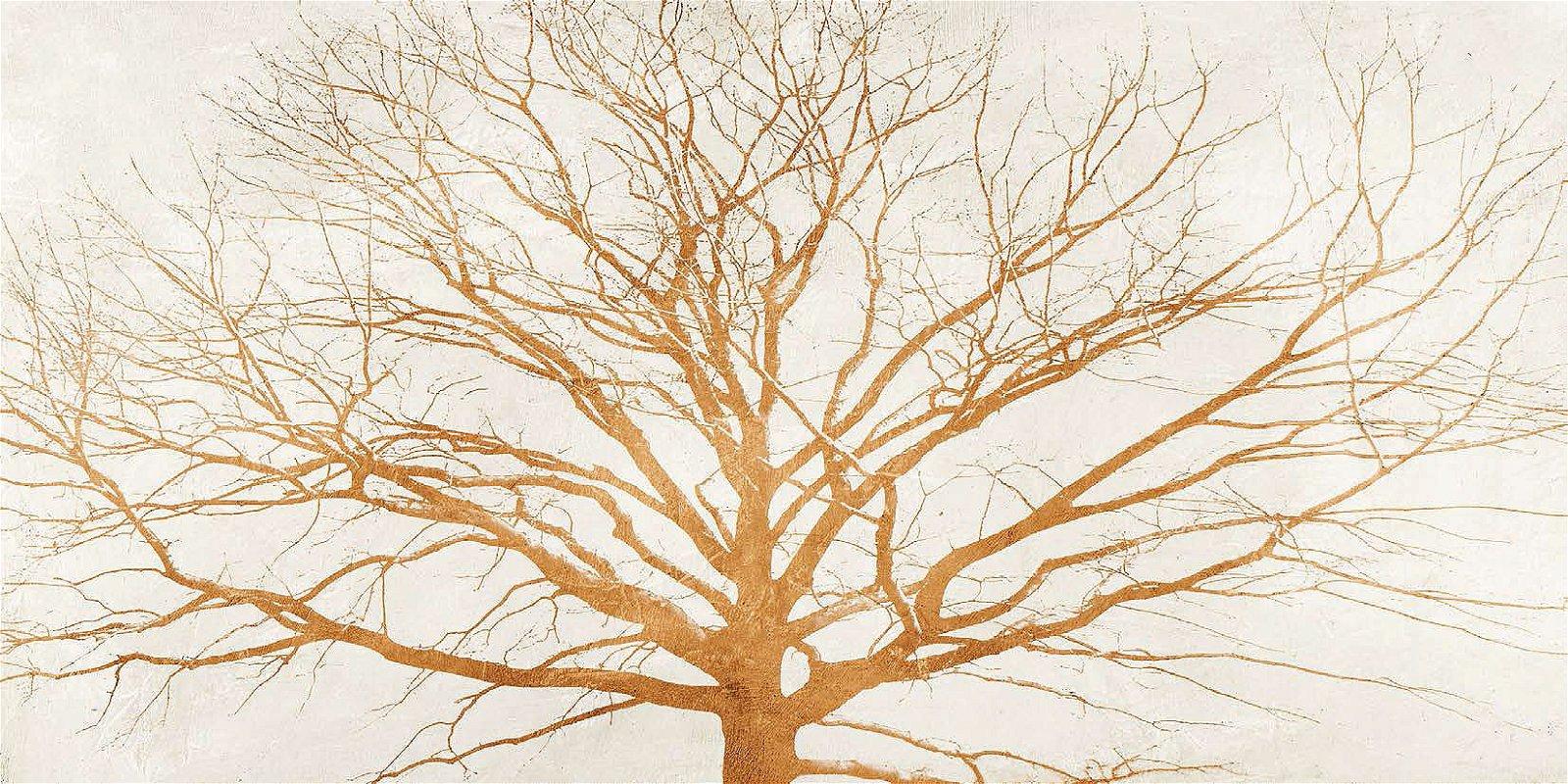 Cuadro canvas tree of gold