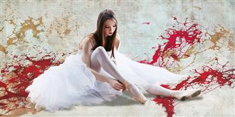 Cuadro canvas ballet dancer