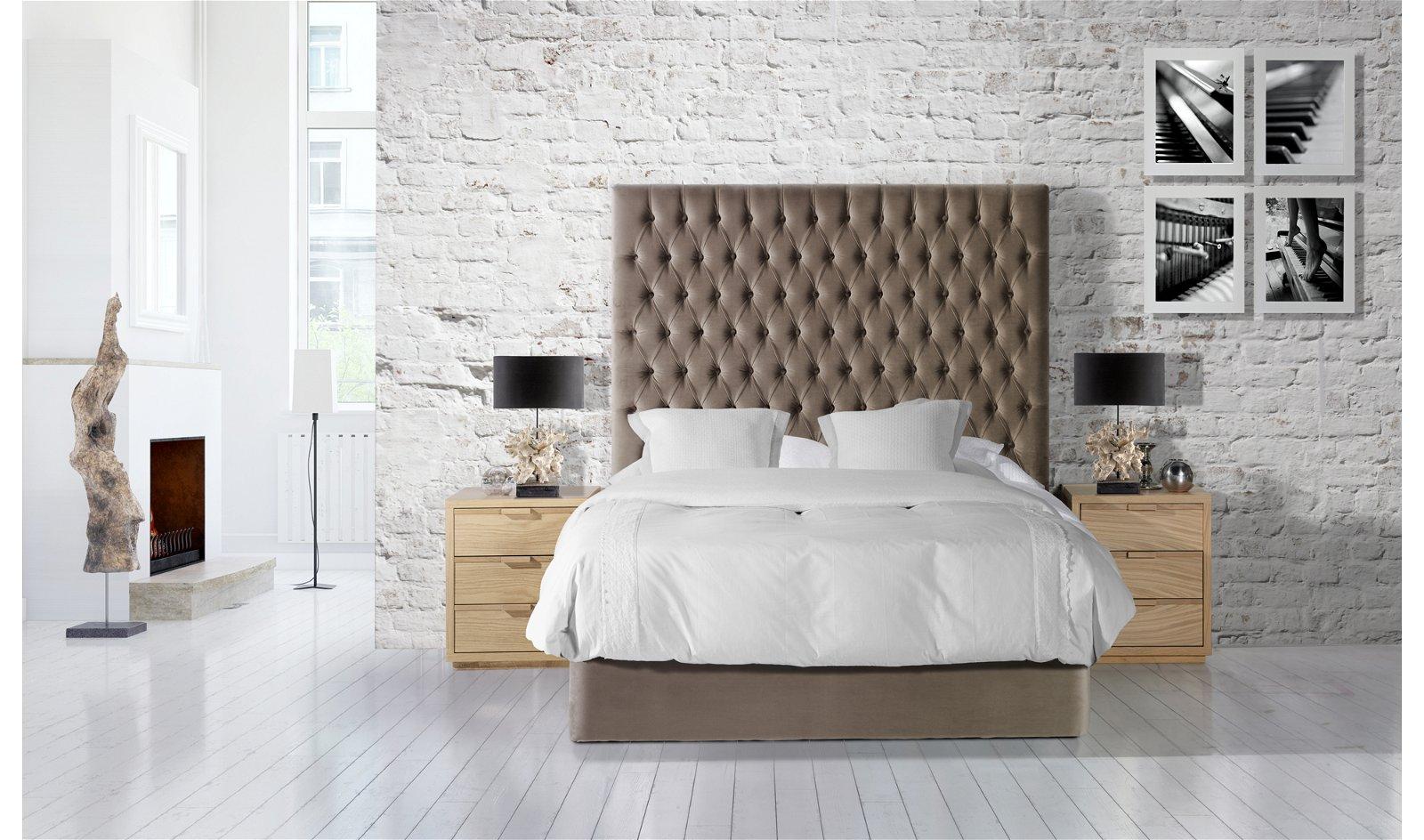 Dormitorio tapizado Miramar Fort