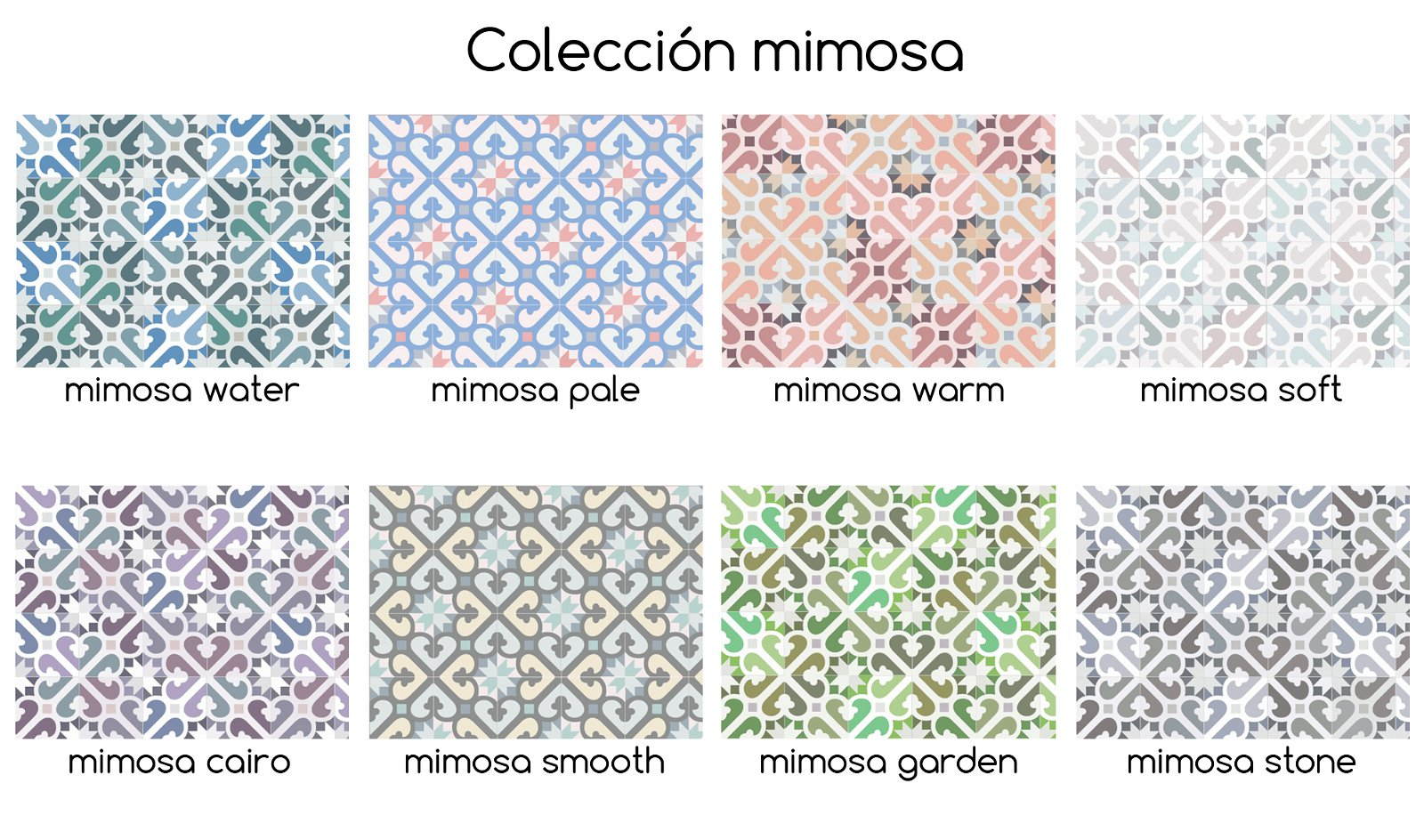 Alfombra de vinilo Mimosa V