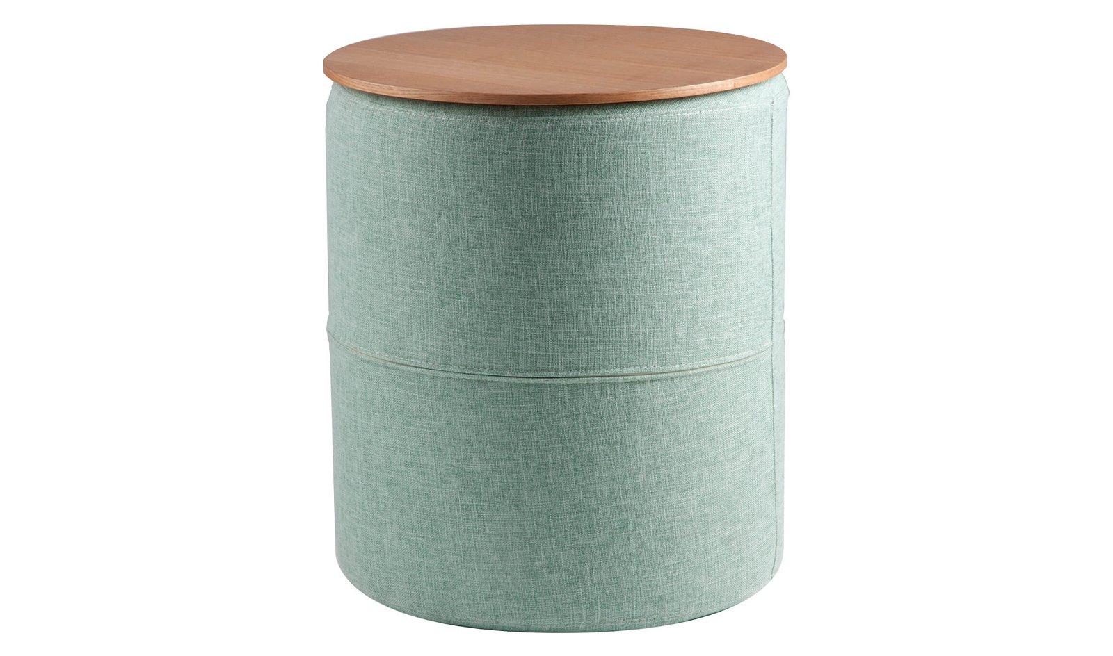 Mesa de rincón tapizada Leo