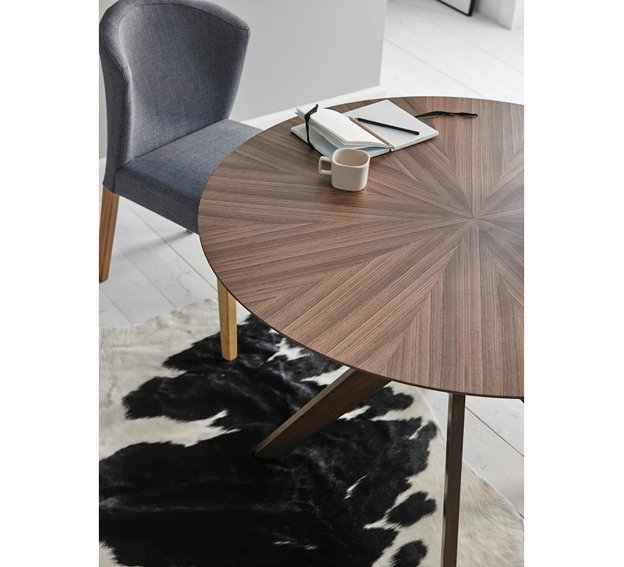 Mesa de comedor redonda nórdica Carmel