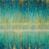 Cuadro canvas rain abstract 1