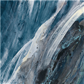 Cuadro canvas splash indigo