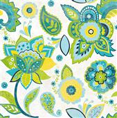 Cuadro canvas fun florals white crop