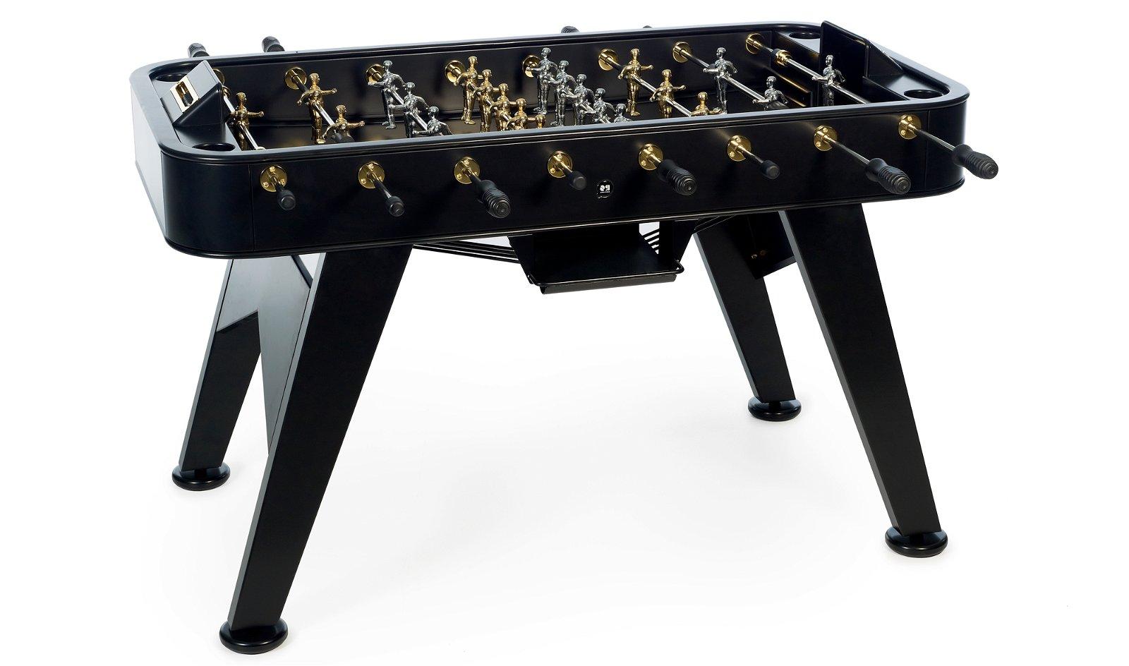 Futbolín madera moderno gold RS2
