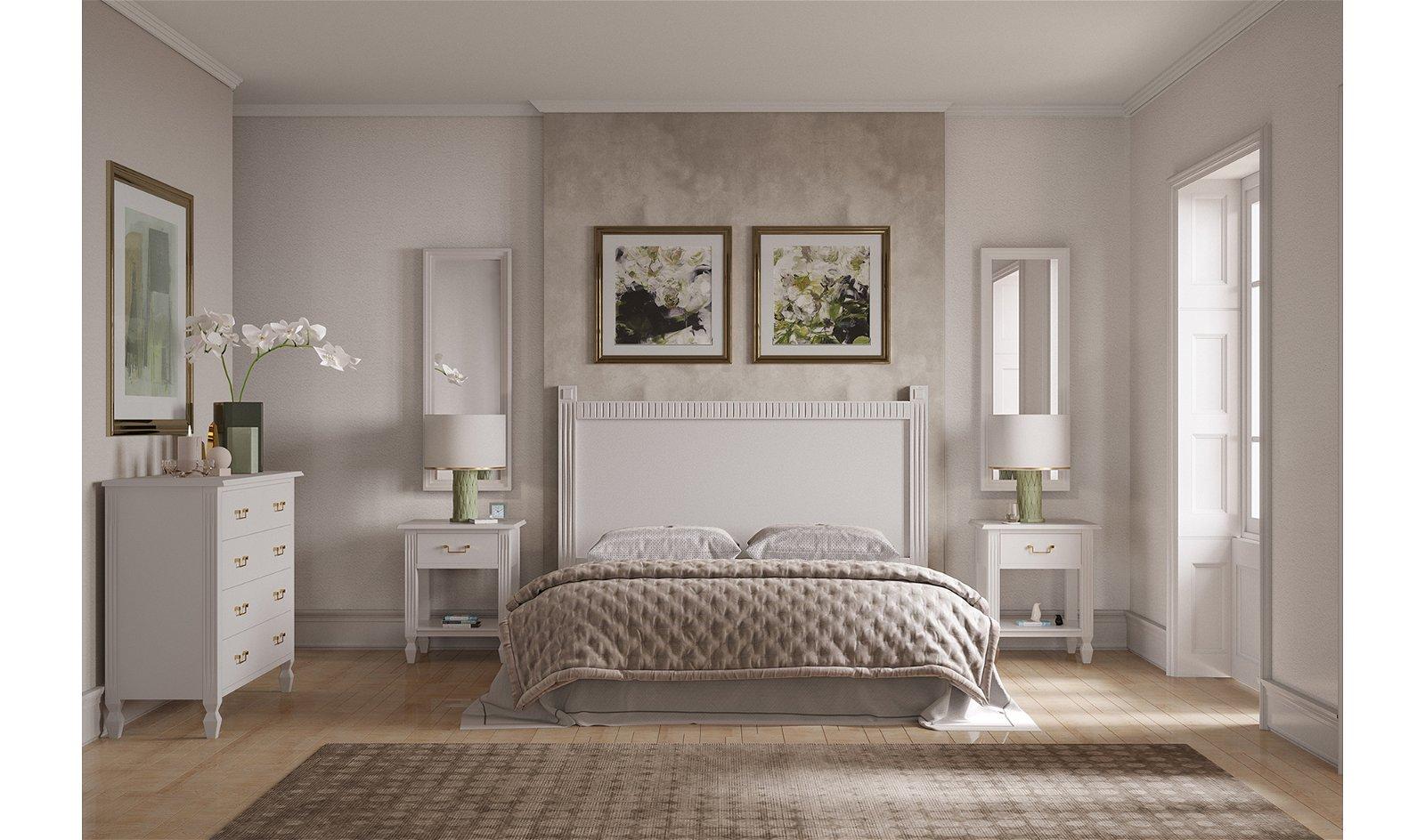Dormitorio colonial Brookling