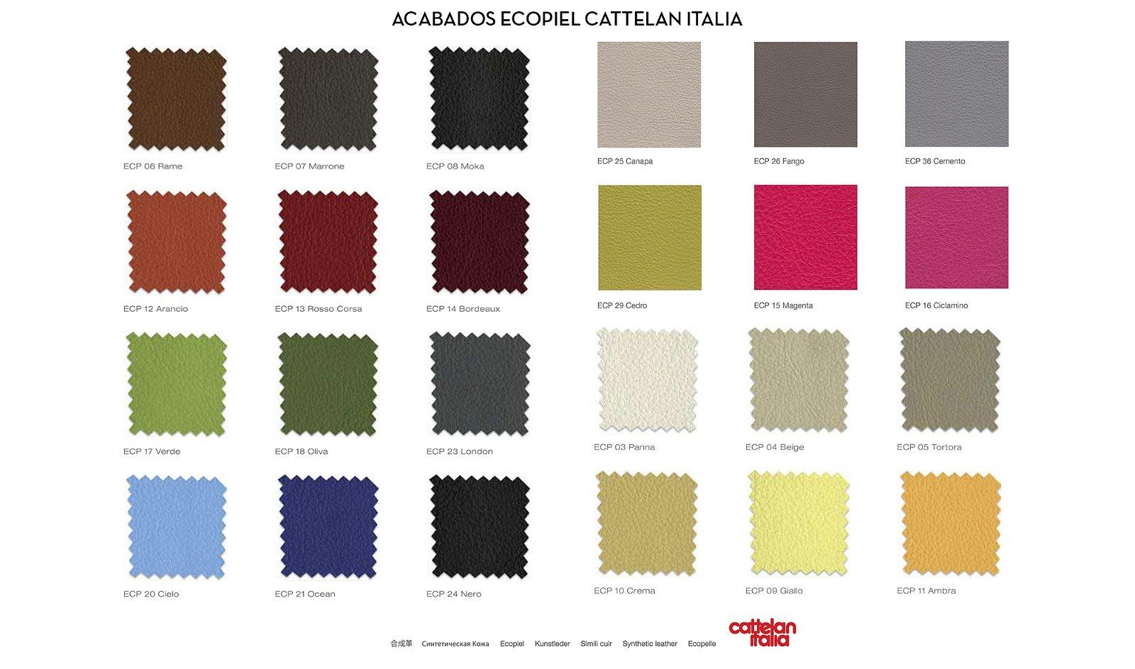 Taburete de diseño Magda couture Cattelan