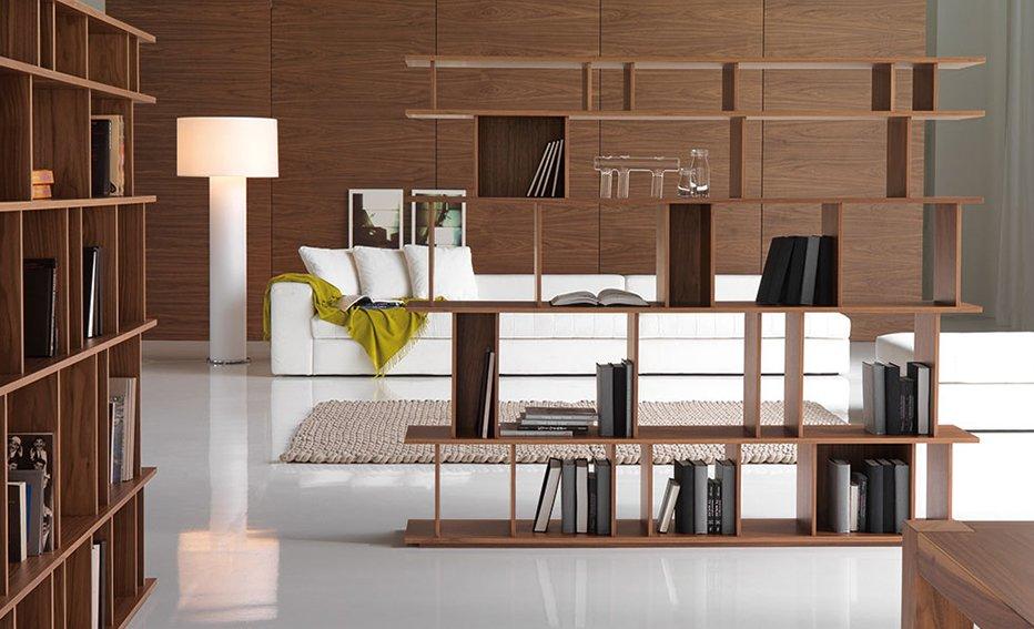 Librería moderna Loft Cattelan