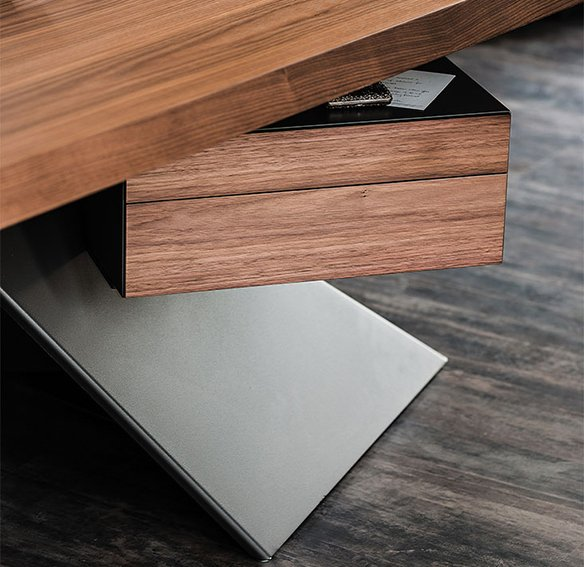 Mesa de escritorio moderna Nasdaq