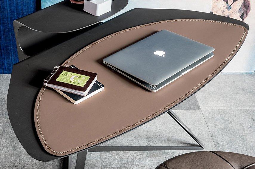 Mesa de escritorio acero Storm Cattelan