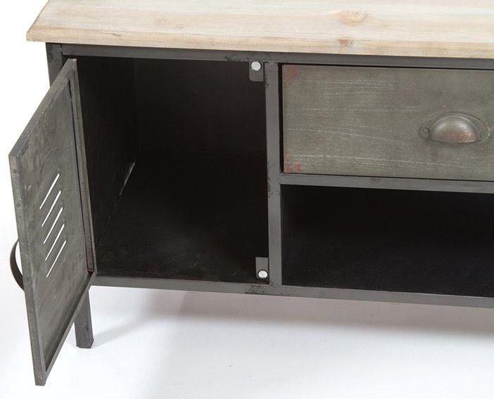 Mueble tv industrial Pider