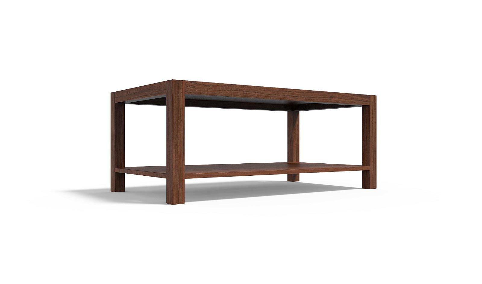 Mesa de centro madera castaño Staten Island