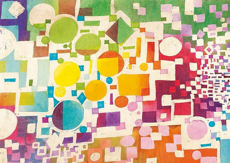 Cuadro canvas multiculti