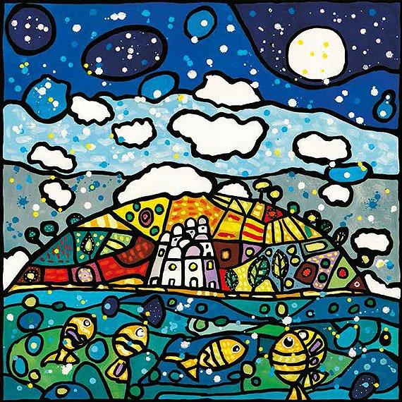 Cuadro canvas isola dei sogni