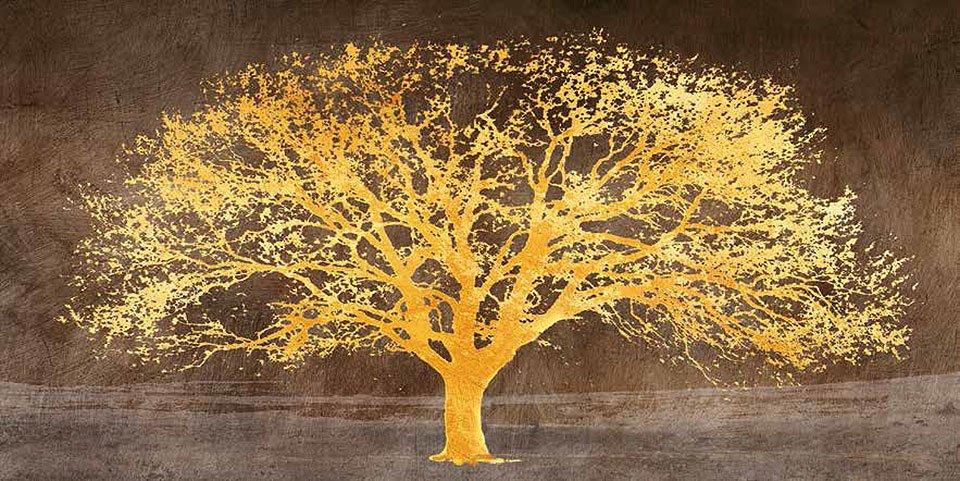 Cuadro canvas shimmering tree ash