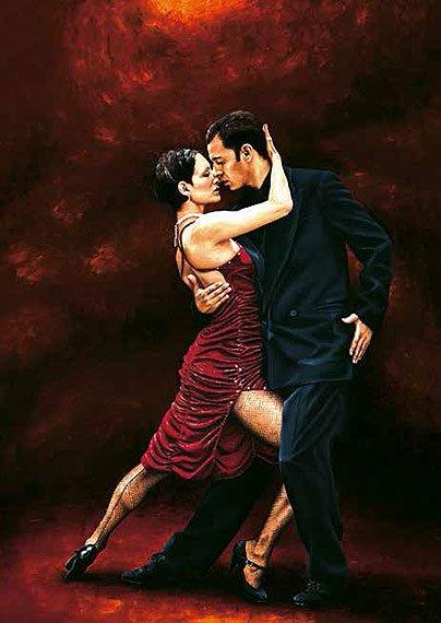 Cuadro canvas that tango moment