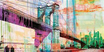 Cuadro canvas the bridge 2.0