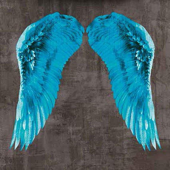 Cuadro canvas angel wing V