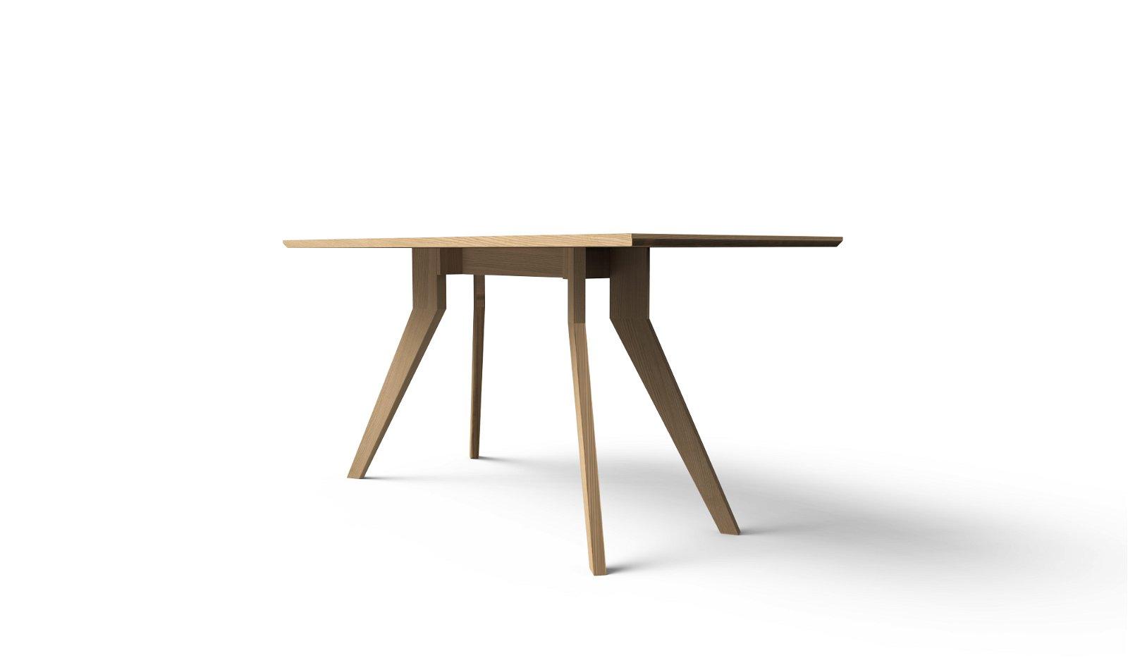 Mesa de comedor nórdica Bosco