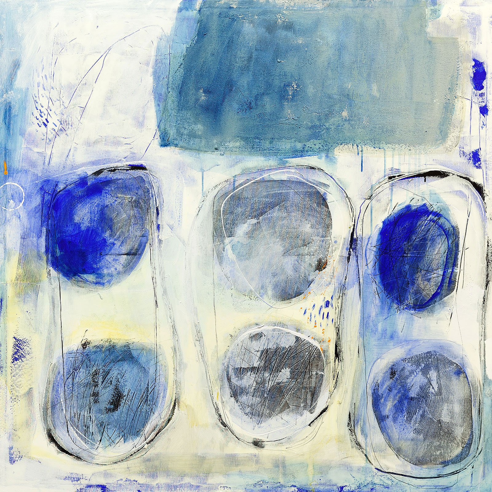Cuadro abstracto gil tres seis