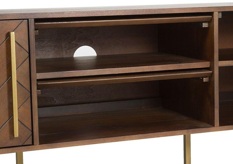 Mueble tv 2 puertas vintage Bruno